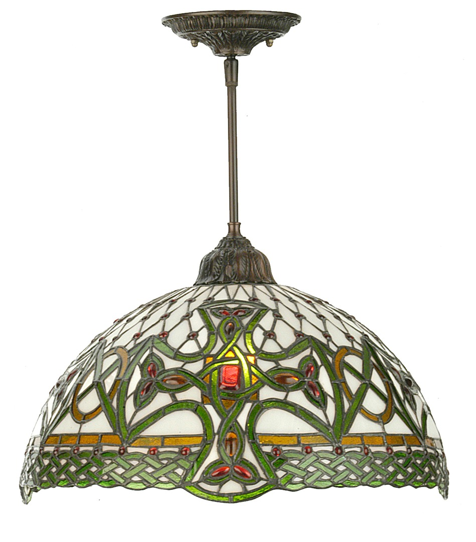 Stained glass windows lighting and lamps realgoods company load more mozeypictures Choice Image